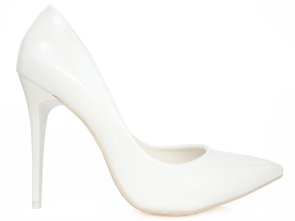 White boots wedding pins pins - 1