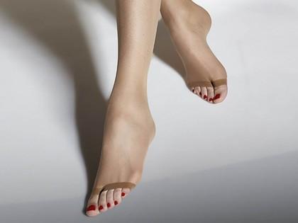 15 den fingerlosen Strumpfhosen ausgesetzt Zehen - 2
