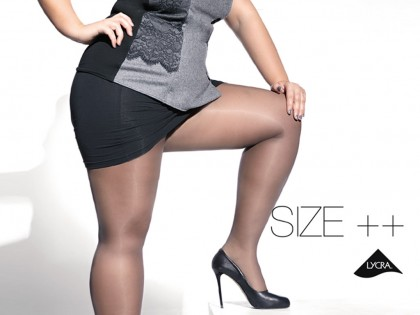 Strumpfhose Kiara Adrian 20 den size plus - 2