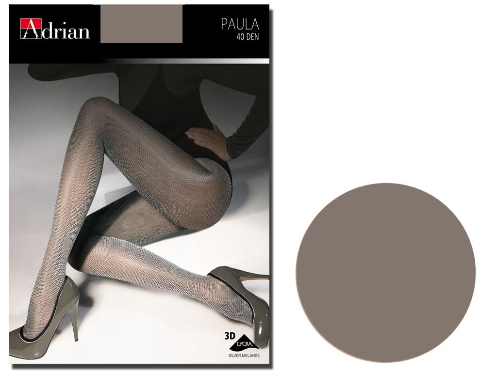 Tights 40 den Adrian Paula Melange - 3