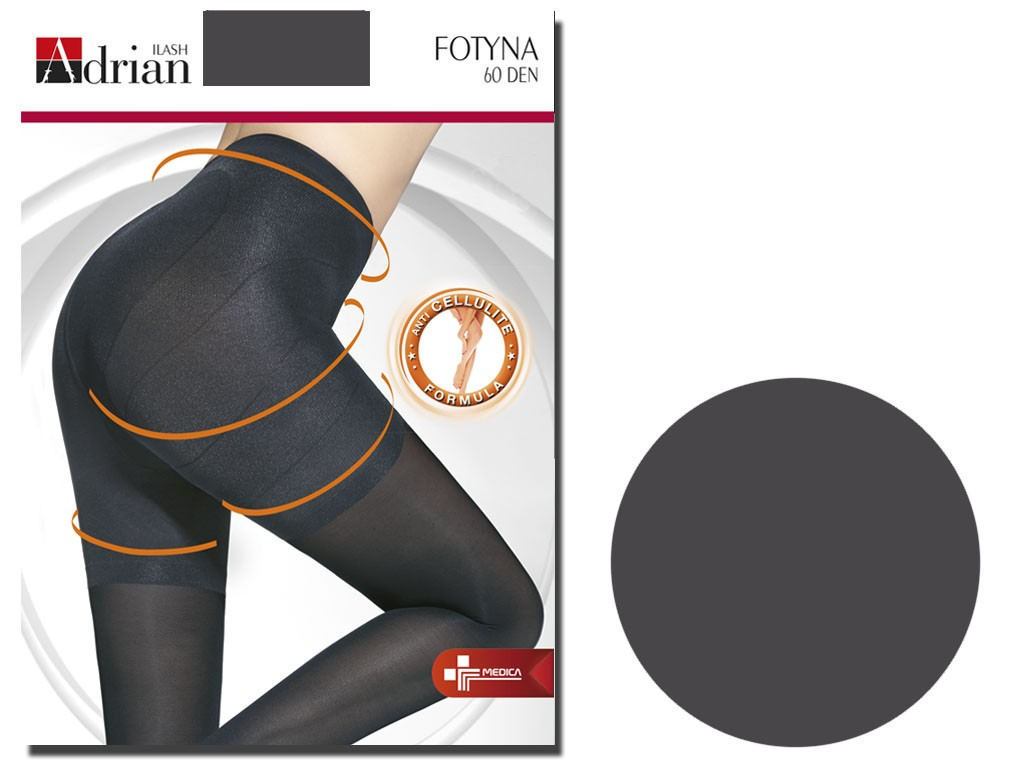 Anti-cellulite tights 60 bottom opaque - 3