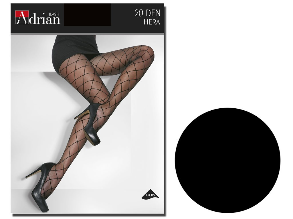 Hera size tights plus 20 den like cabbages - 3