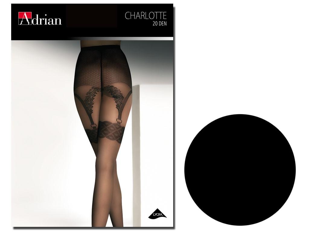 Charlotte Adrian tights imitate stockings - 3