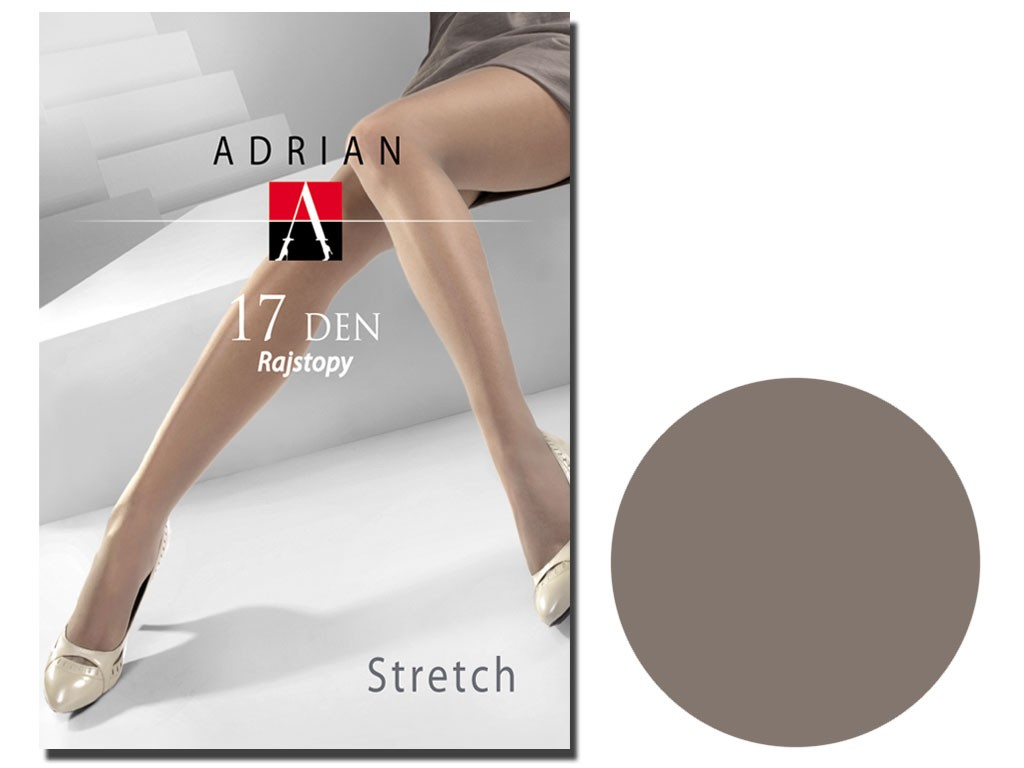 Transparente Strumpfhose 17 Den Stretch Adrian - 7