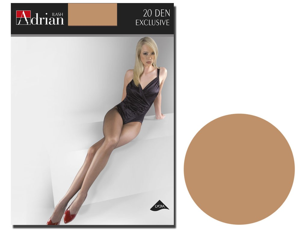 Adrian tights 20 bottom smooth thong - 5