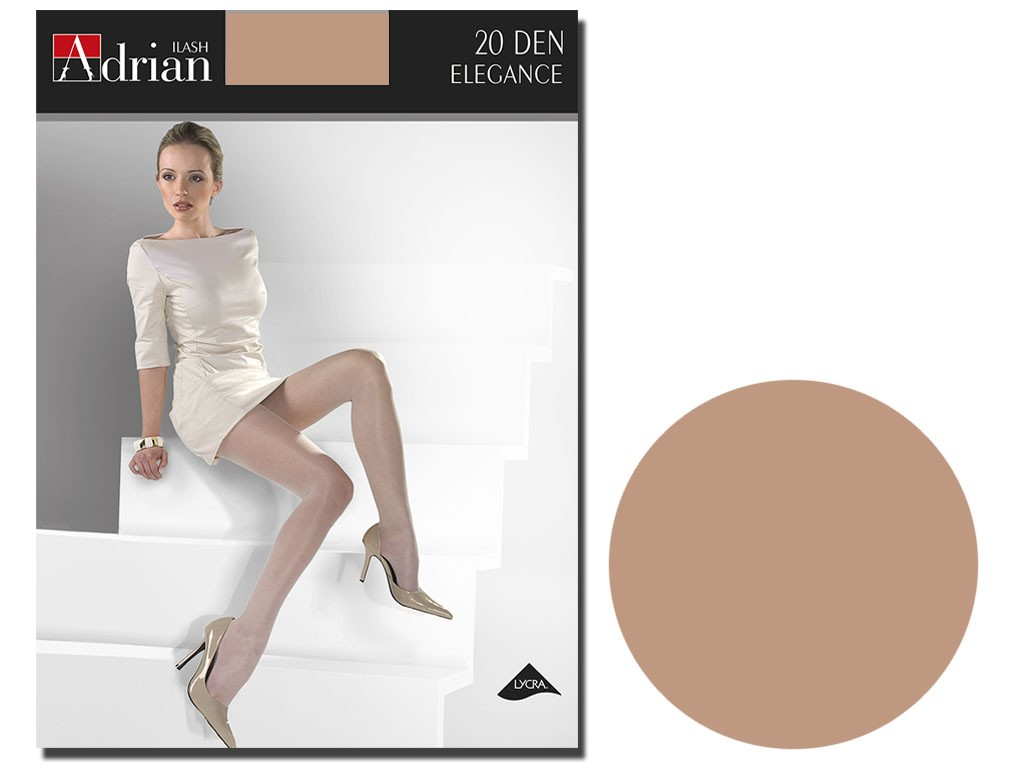 Smooth tights half mat Lycra 20 den - 7