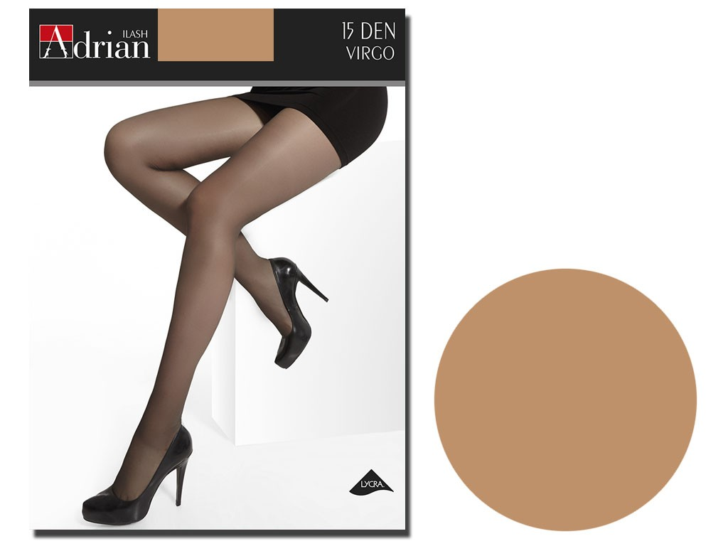 Smooth tights Adrian 15 bottom with gloss - 9