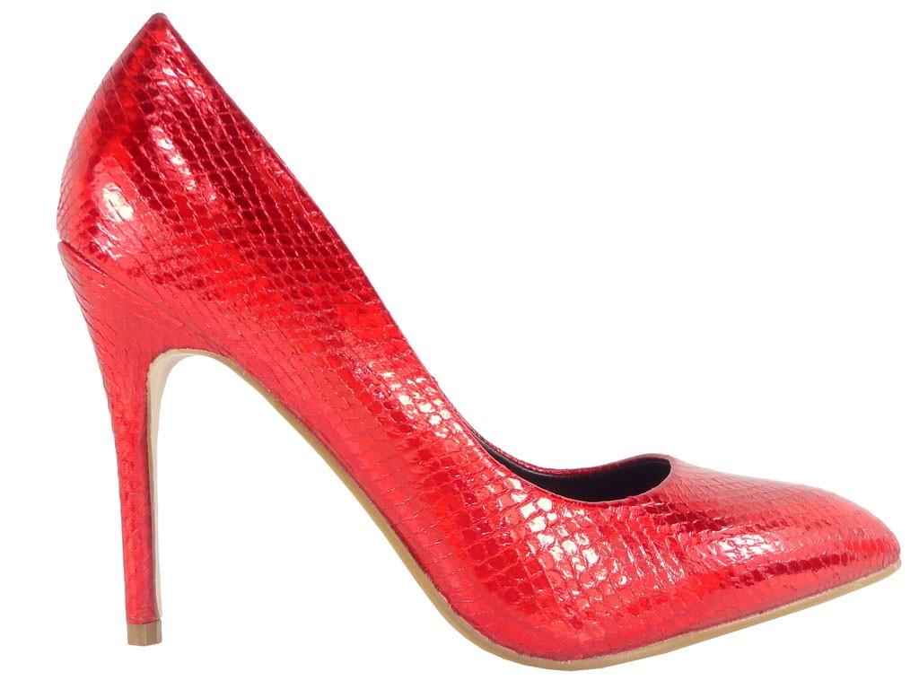 Rote High Heels Pumps - 1