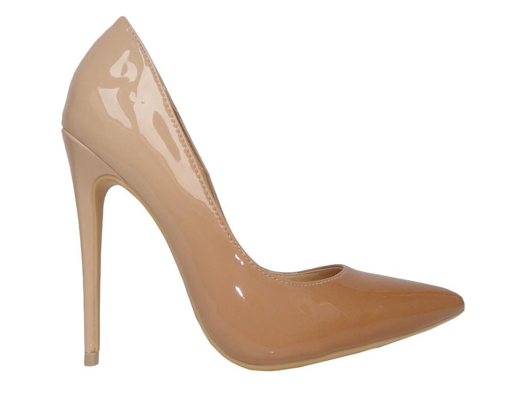 High Heels Ombre High Heels Nude Spikes - 1