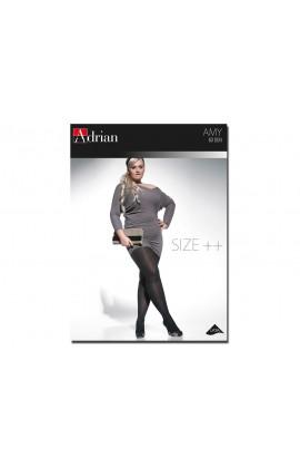 Rajstopy Amy Adrian 60 den size plus