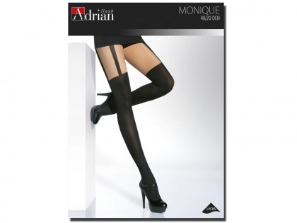 Adrian tights imitate stockings - 1