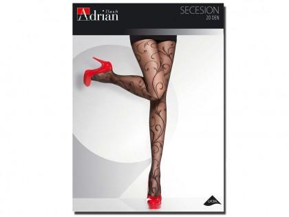 Secession Adrian Strumpfhose 20 Den gemustert - 1