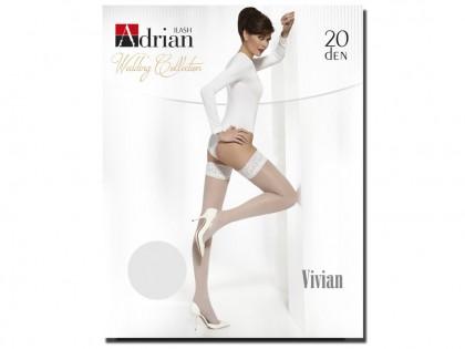 Wedding stockings 15 den Adrian - 1