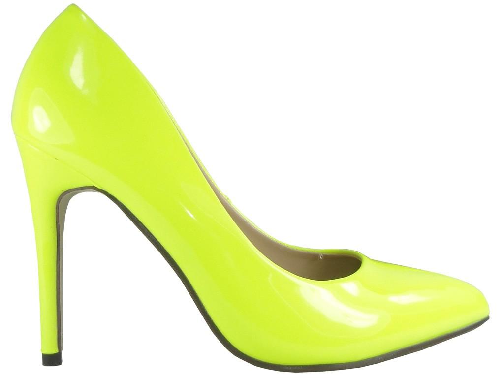 Gelbe neonfarbene Stollen - 1