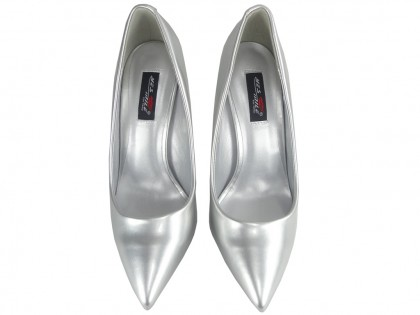 Silver Pearl Heeled Shoe Pins - 2