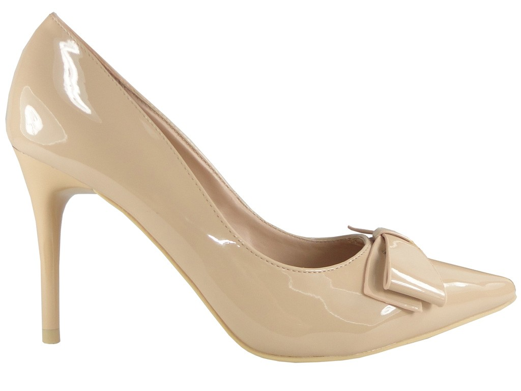 Bodily beige pins low bow lacquers - 1