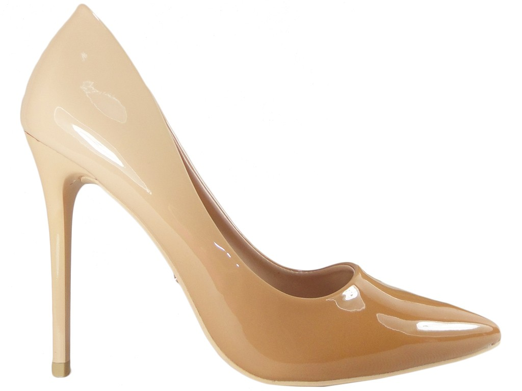 Ombre ombre beige nude shoes for women - 1