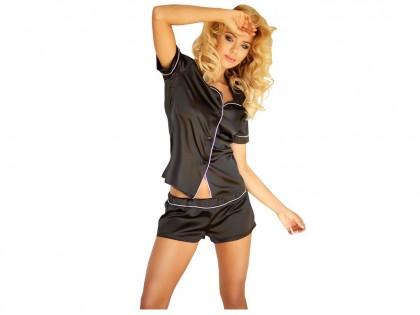 Ladies' underwear two-piece black set - 1