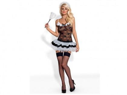 Dressing up the hot maid Obsessive - 1