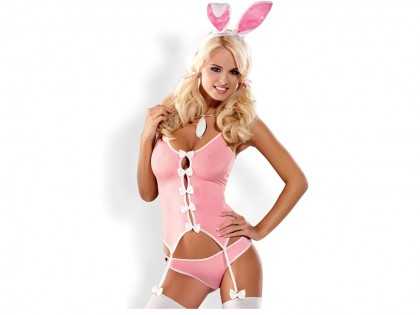 The Obsessive sexy pink bunny dress - 1