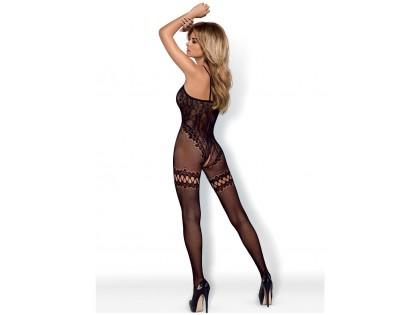 Bodystocking black sexy ladies' underwear - 2