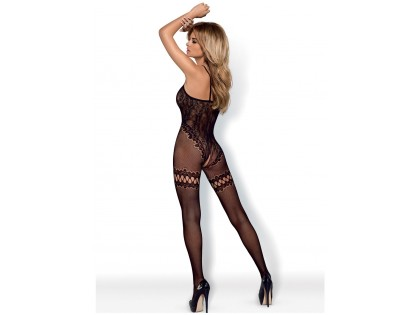 CZARNE BODYSTOCKING