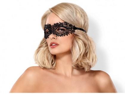 Sexy black eye mask Obsessive - 1