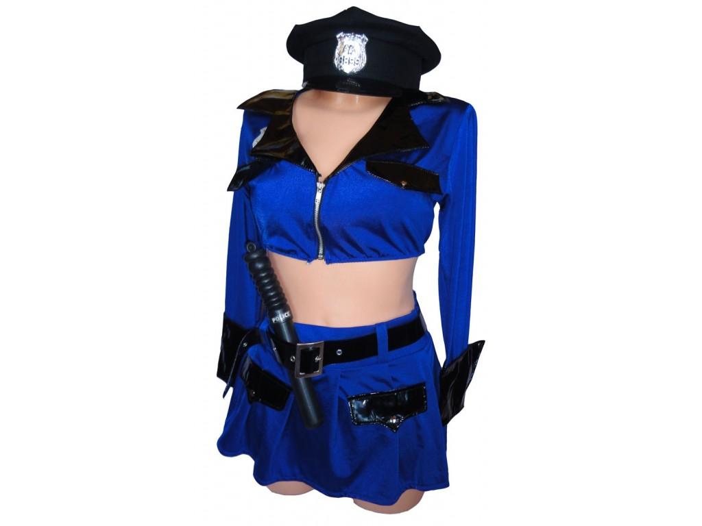 POLICJANTKA PRZEBRANIE KOSTIUM MUNDUR