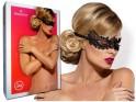 Female black eye mask Obsessive - 2