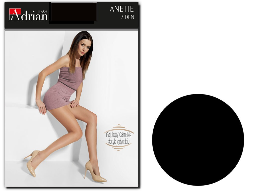 Tights 7 den Anette Adrian smooth thin tights - 4