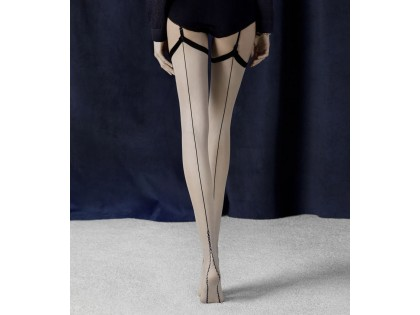 Vintage stockings Fiore stitching - 2