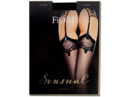 Exclusive Fiore matt belt stockings - 1