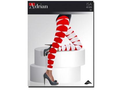 Adrian Isa leggings getrays patterned 40den - 1
