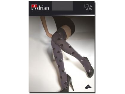 Adrian Lola über Knie hoch 40 Den Mikrofaser - 1