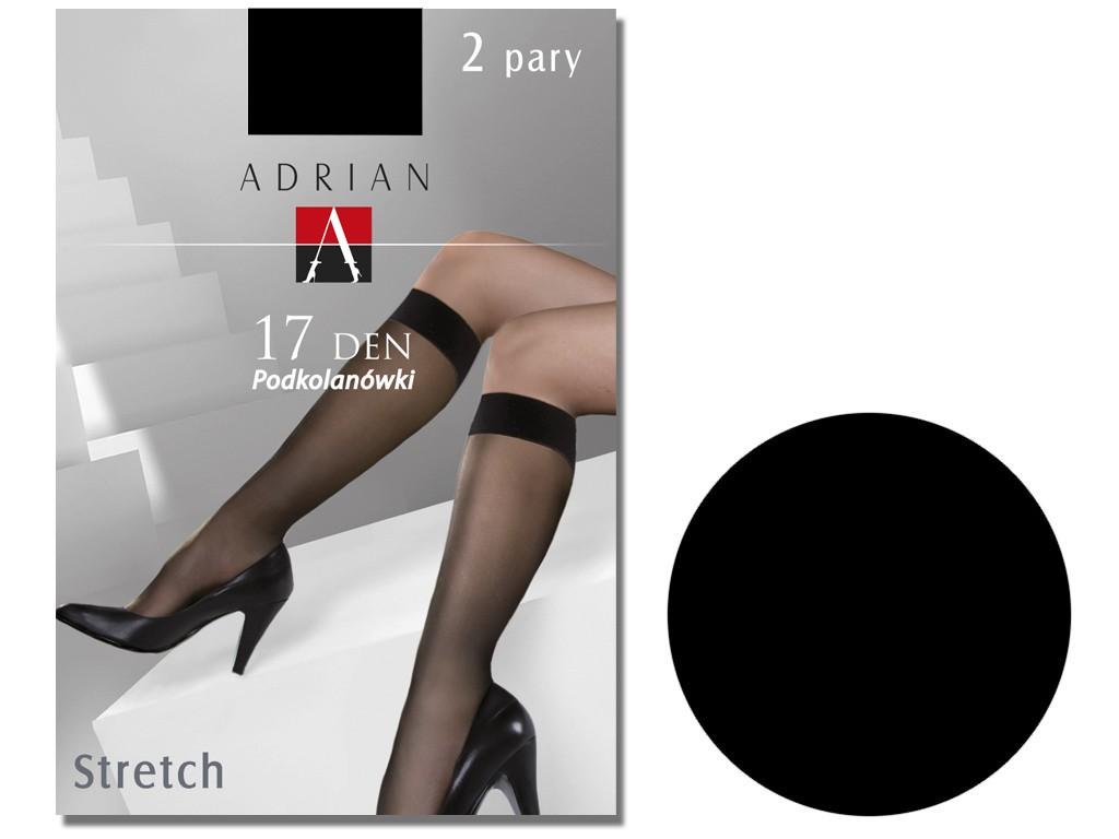 Stretch knee socks Adrian 17den - 3