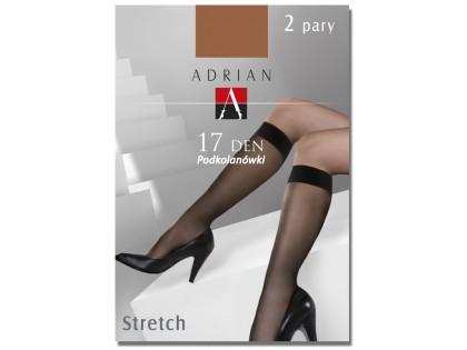 Stretch knee socks Adrian 17den - 1