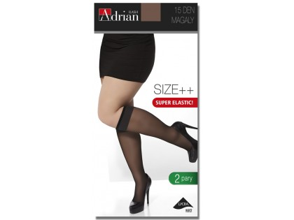 SOCKS SIZE PLUS MAGALY 2 PAIRS - 1