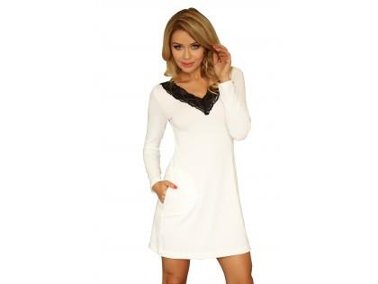 Nightgown long sleeve viscose - 1