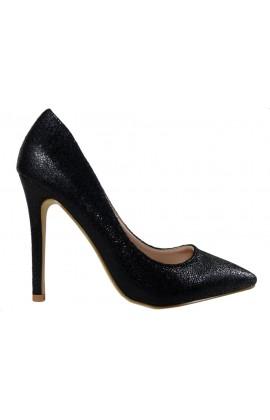 Czarne szpilki klasyczne buty damskie