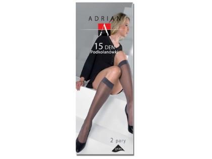 Lycra Adrian 15den knee socks - 1