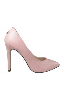 Jasno różowe pink buty szpilki z ekspresem