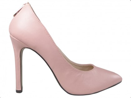 Light pink pink pink boots with express - 1