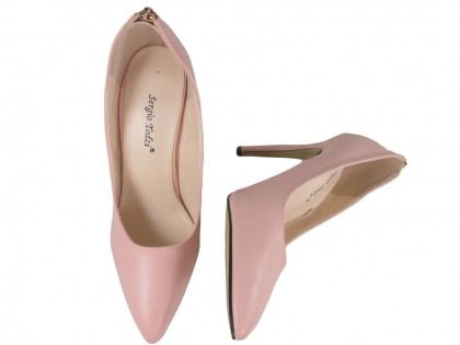 Light pink pink pink boots with express - 2