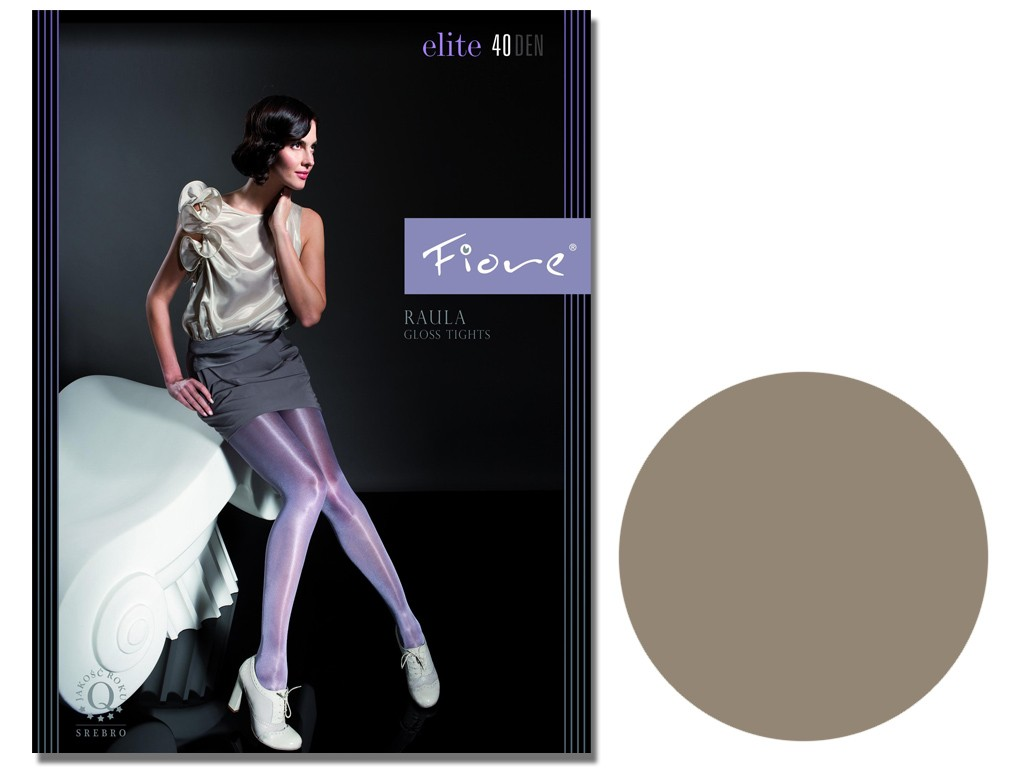Smooth tights with a satin gloss effect Fiore - 5
