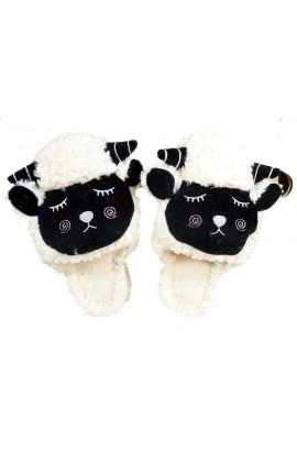 Kapcie domowe owieczki owce puszyste