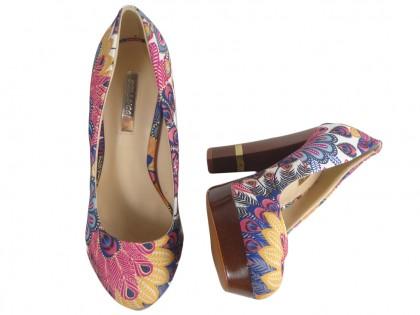 Buty damskie na słupku buty na platformie