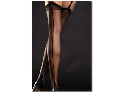 Black stockings with Diva stitching ladies' underwear - 2