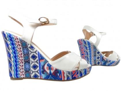 Sandały na koturnie letnie buty damskie