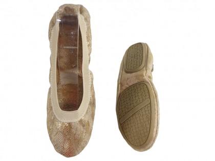 Baletki elastyczne giętkie z gumką