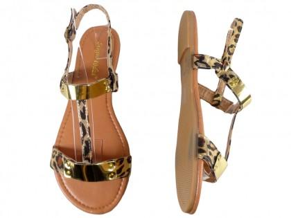 Sandały damskie moro płaskie buty letnie